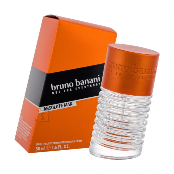 Bruno Banani Absolute Man tualettvesi meestele EdT 50 ml
