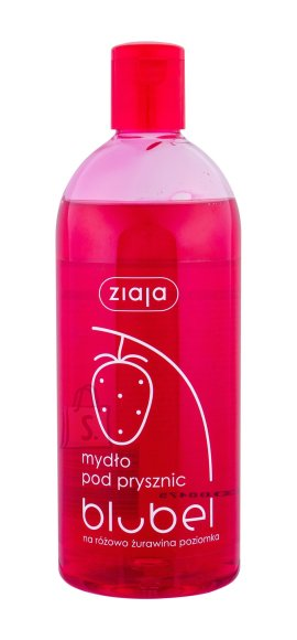 Ziaja Fruity Cranberry & Wild Strawberry dušigeel 500ml