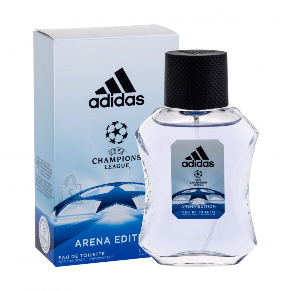 Adidas UEFA Champions League Arena Edition tualettvesi EdT 50 ml