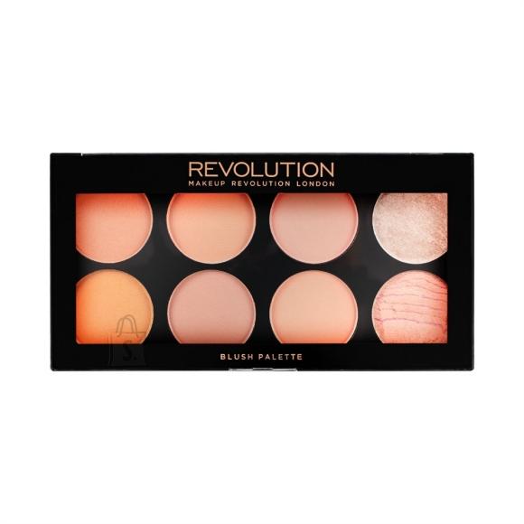 Makeup Revolution London põsepuna ja highlighter'i palett: Hot Spice