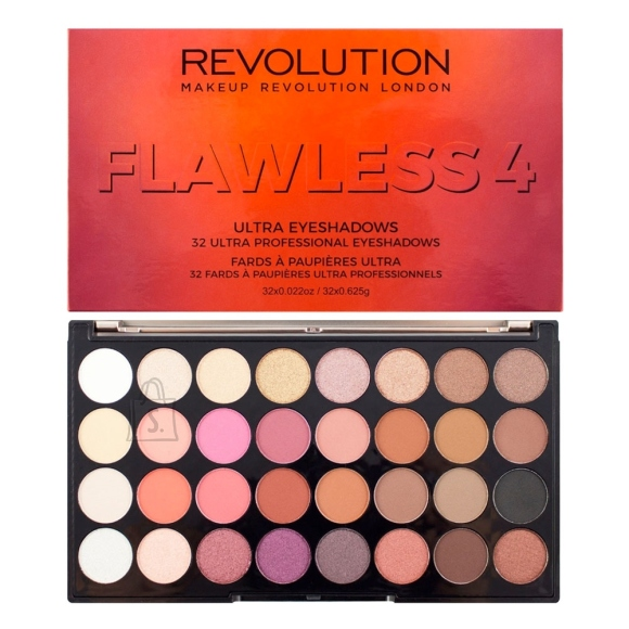 Makeup Revolution London Ultra 32 lauvärvi palett: Flawless 4