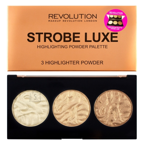Makeup Revolution London Strobe Luxe highlighter palett