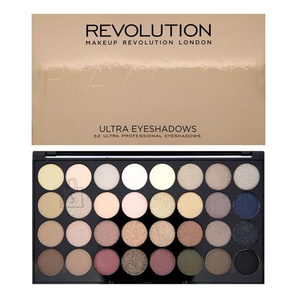 Makeup Revolution London Ultra 32 lauvärvi palett: Flawless