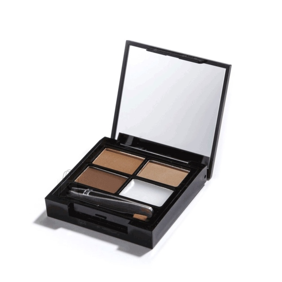 Makeup Revolution London Focus & Fix Eyebrow Shaping Kit: Medium Dark