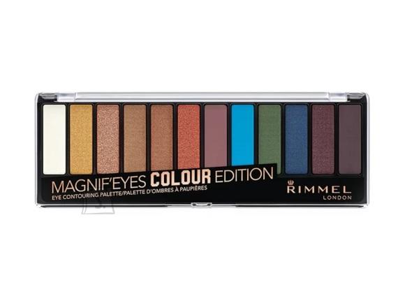 Rimmel London Magnif'eyes lauvärvi palett: Colour Edition
