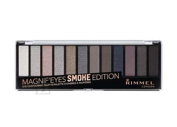 Rimmel London Magnif'eyes lauvärvi palett: Smoke Edition