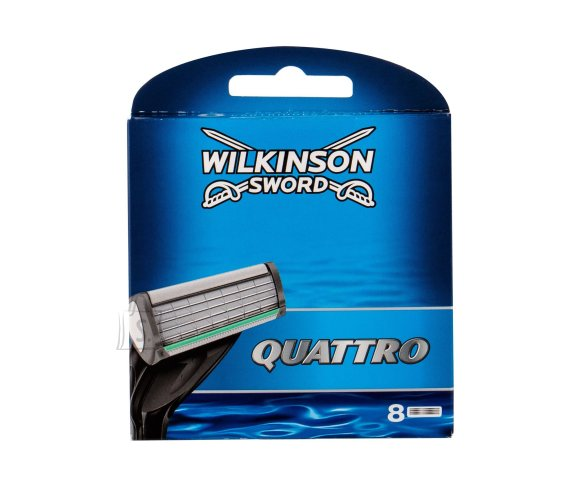 Wilkinson Sword Quattro Replacement blade (8 pc)