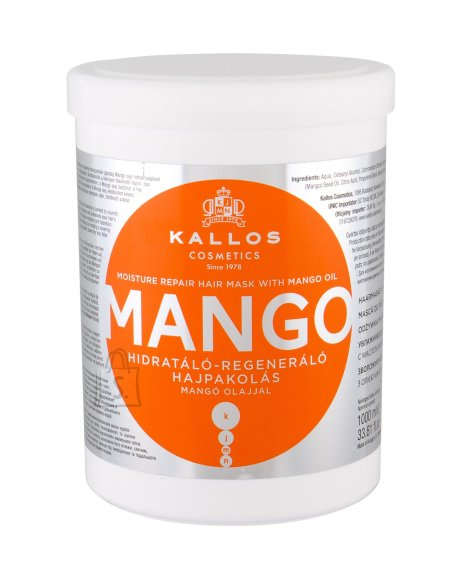 Kallos Cosmetics Mango Hair Mask (1000 ml)