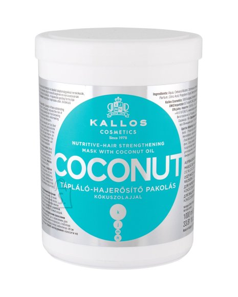 Kallos Cosmetics Coconut Hair Mask (1000 ml)