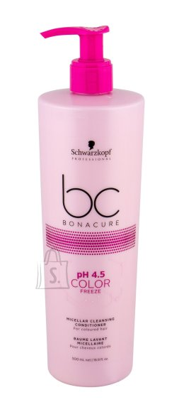 Schwarzkopf Professional BC Color Freeze Micellar Cleansing juuksepalsam 500ml