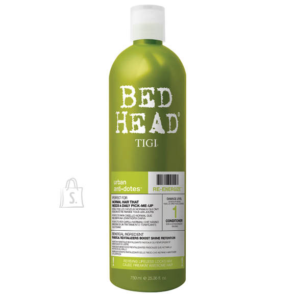 Tigi Bed Head Re-Energize juuksepalsam 750 ml
