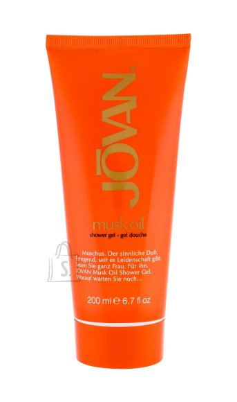 Jovan Musk Oil Shower Gel (200 ml)