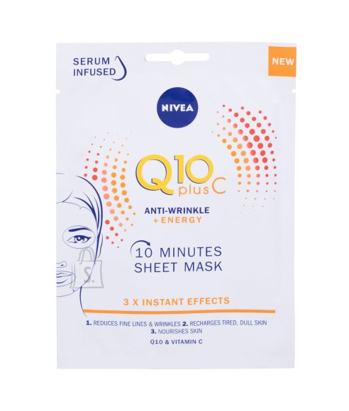 Nivea Q10 Plus C Face Mask (1 pc)