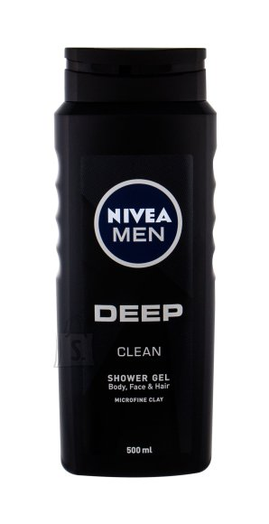 Nivea Men Deep Shower Gel (500 ml)