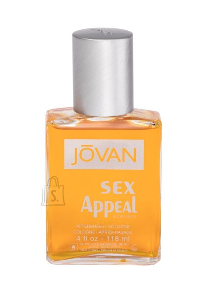 Jovan Sex Appeal Aftershave Water (118 ml)