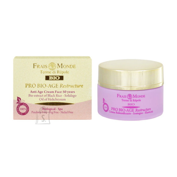 Frais Monde Pro Bio-Age Restructure AntiAge Face Cream 50Years näokreem 50 ml