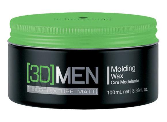 Schwarzkopf 3DMEN Molding Wax modelleerimisvaha 100 ml