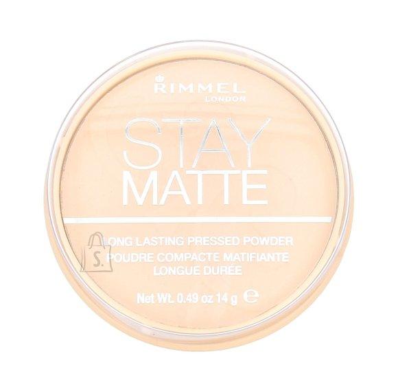 Rimmel London Stay Matte Long Lasting Pressed Powder kivipuuder 14 g Transparent