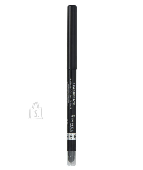 Rimmel London Exaggerate Waterproof Eye Definer silmapliiats 0.28 g hall