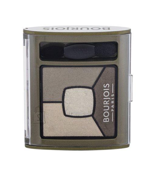 BOURJOIS Paris Smoky Stories Quad Eyeshadow Palette, 04 Rock This Khaki