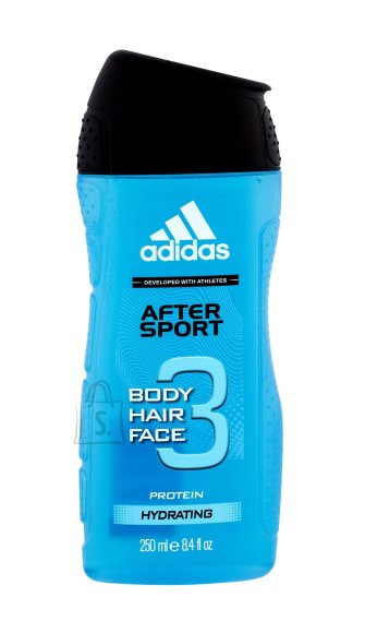 Adidas 3in1 After Sport meeste dušigeel 250 ml