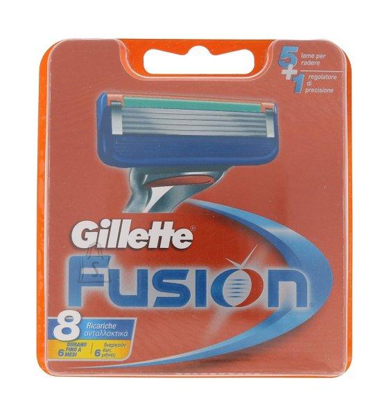 Gillette Fusion žiletiterad 8 tk