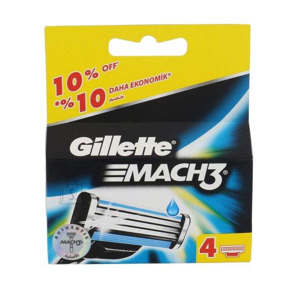 Gillette Mach3 žiletiterad 4 tk