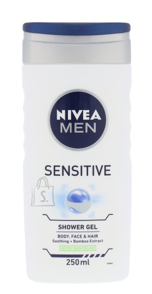 Nivea Sensitive dušigeel meestele 250 ml