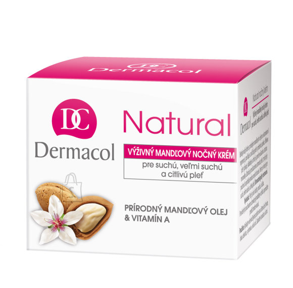 Dermacol Natural Almond Night Cream näokreem 50 ml