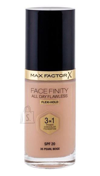 Max Factor Face Finity 3in1 SPF20 jumestuskreem Pearl Beige 30 ml