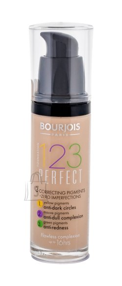 BOURJOIS Paris 123 Perfect Foundation jumestuskreem, 52 Vanille