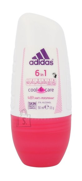 Adidas 6in1 roll-on deodorant naistele 50ml