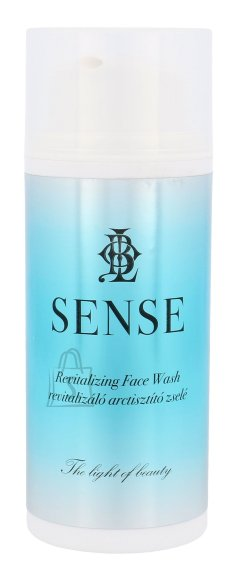 Kallos Cosmetics Sense Revitalizing Face Wash puhastusgeel 100 ml