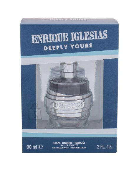 Enrique Iglesias Deeply Yours tualettvesi meestele EdT 90 ml