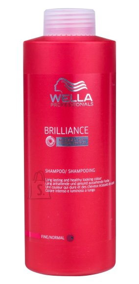 Wella Brilliance šampoon värvitud juustele 1000 ml