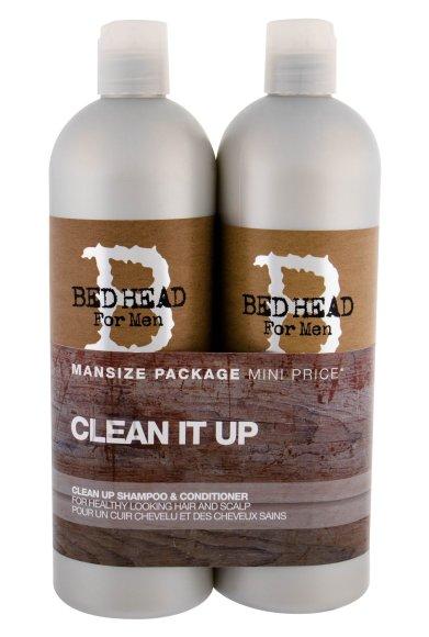 Tigi Bed Head Men Clean It Up šampoon+palsam 1500 ml