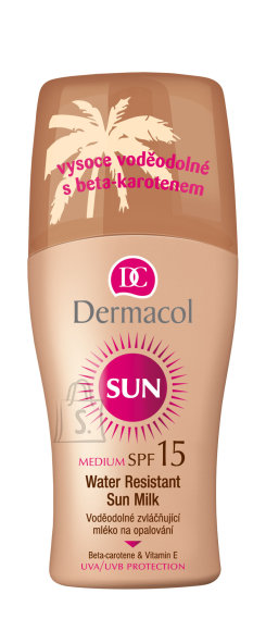 Dermacol Sun Milk Spray SPF15 päikesekaitse sprei 200 ml