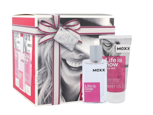 MEXX Life is Now for Her lõhnakomplekt EdT 30 ml
