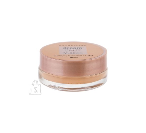 Maybelline Dream Matte Mousse SPF15 jumestuskreem Nude 18 ml