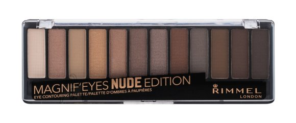 Rimmel London Magnif'eyes lauvärvi palett: Nude Edition