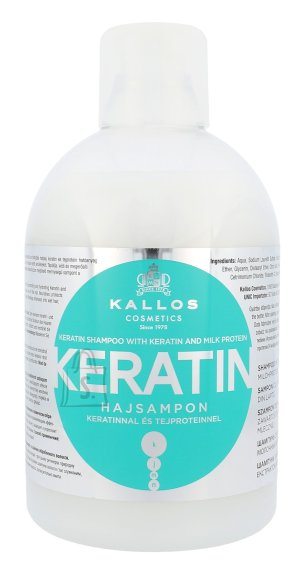 Kallos Cosmetics Keratin šampoon 1000 ml
