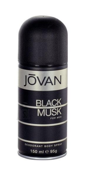 Jovan Musk Black spray deodorant meestele 150 ml