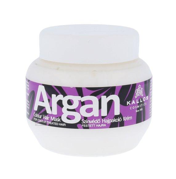 Kallos Cosmetics Argan Colour juuksemask 275 ml