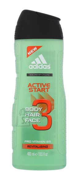 Adidas 3in1 Active Start meeste dušigeel 400 ml