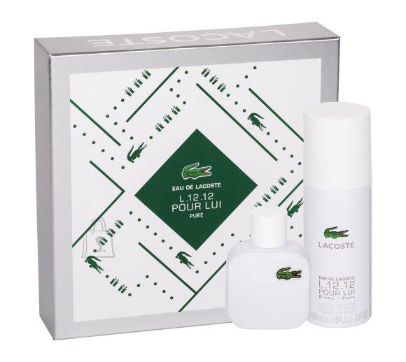 Lacoste Eau De Lacoste L.12.12 Blanc lõhnakomplekt EdT 50 ml
