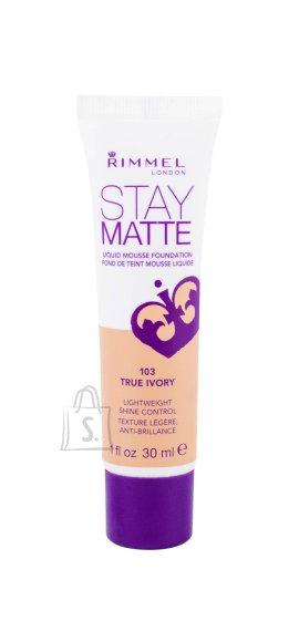 Rimmel London Stay Matte Liquid Mousse jumestuskreem 30 ml