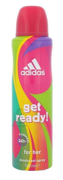 Adidas Get Ready! deodorant naistele 150ml
