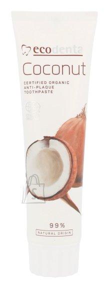 Ecodenta kookosõli ja tsinksoolaga sertifitseeritud orgaaniline hambapasta 100 ml