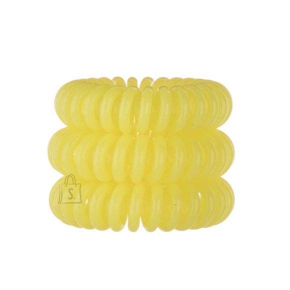 Invisibobble Hair Ring juuksekumm-võru 3 tk kollane