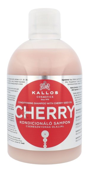 Kallos Cosmetics Cherry šampoon 1000 ml